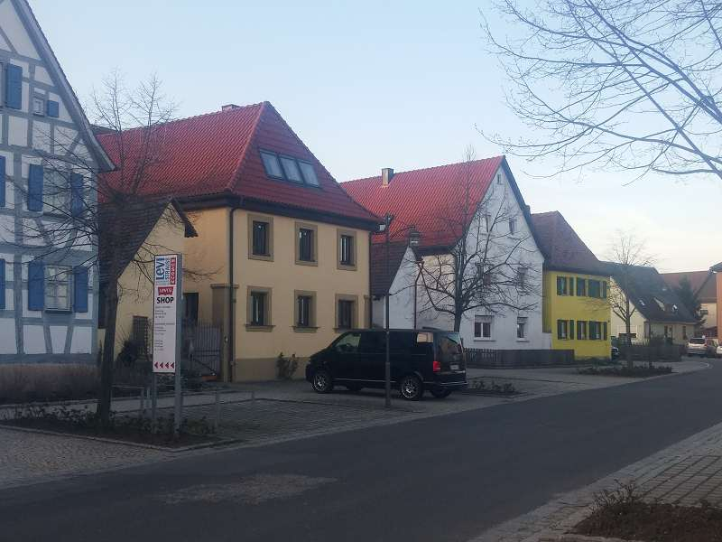 Arrivée à Buttenheim..