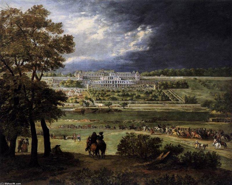 2 Adam-Frans-Van-Der-Meulen-The-New-Chateau-at-Saint-Germain-en-Laye-2-
