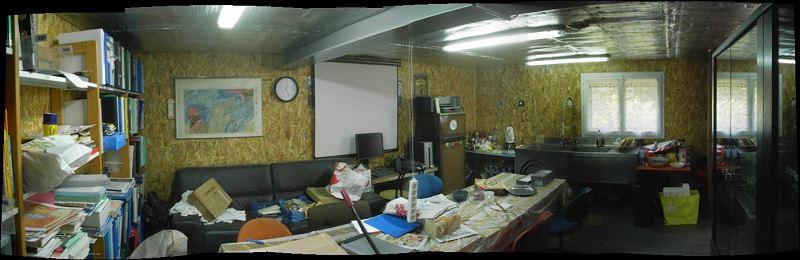 Panoramique du salon - salle à manger - cuisine (3)